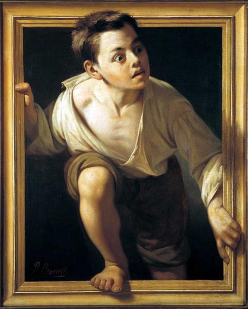 Escapando de la crítica, Pere Borrell del Caso, 1874